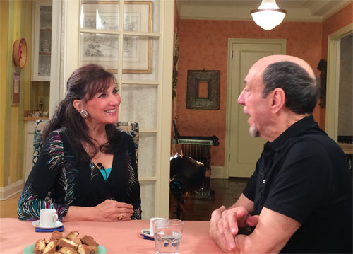 Francine with F. Murray Abraham